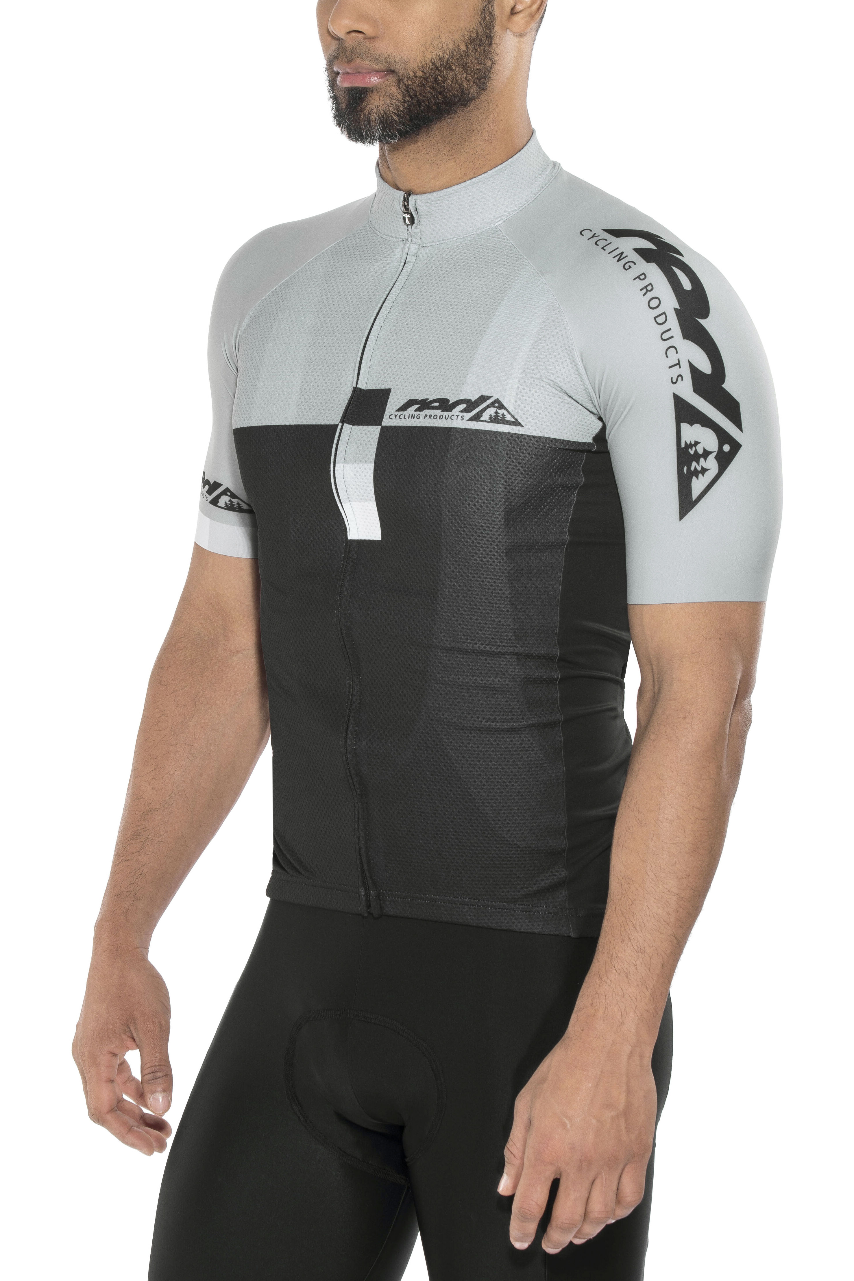 e5372a90096 Red Cycling Products Pro Race Bike Jersey Shortsleeve Men grey black ...